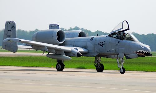 <h4>A-10 Thunderbolt II<br>Moody Air Force Base</h4>