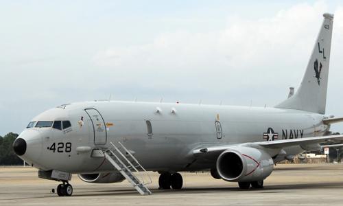 <h4>P-8 Poseidon<br>Naval Air Station Jacksonville</h4>
