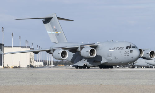 <h4>C-17 Globemaster III<br>Dover Air Force Base</h4>